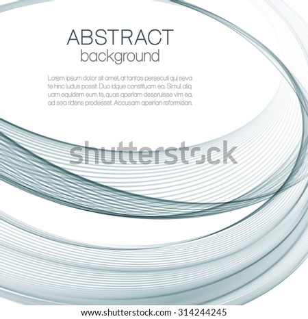 Abstract background with gray ellipses