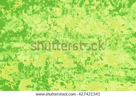 Abstract background with green blots