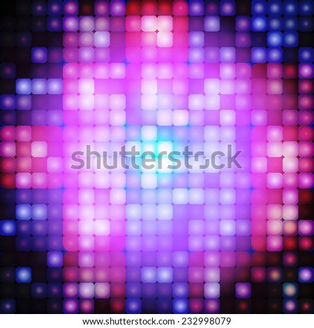 abstract background with light mosaic. Template for your design - stock vector