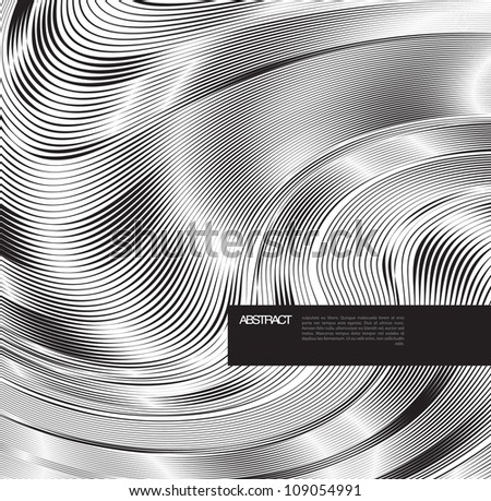 Abstract background with line. Modern, clean, Design be used for banners, website layout vector - stock vector