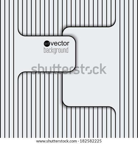 Abstract background with lines and frame. Template for web, brochures, presentations, explanations, flyers,   internet, magazine, padded, blank, advertisements, Publicity, ad - stock vector