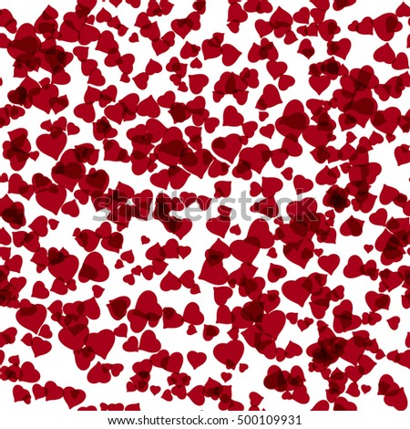 abstract background with many hearts by St.Valentines day or other celebrate