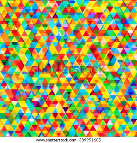 Abstract background with messy triangular polygons pattern