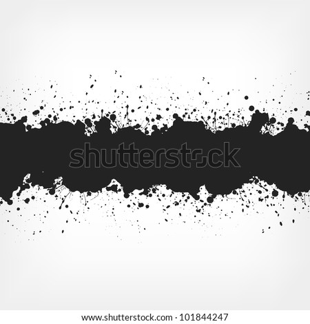 Abstract Background with Paint Splashes. Vector EPS 10.