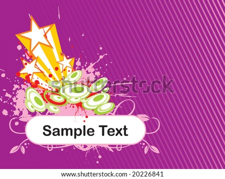 abstract background with place for text, design