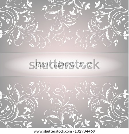 Abstract background with place for your text. Greeting card.