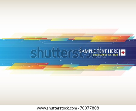 Abstract background with place for your text - Vector - stock vector