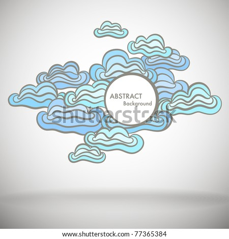 Abstract background with space for Your text - stock vector