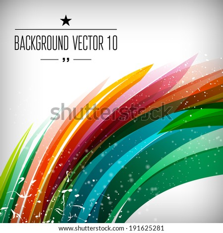 Abstract background with sparks and flashes. Vector Illustration, Graphic Design Editable For Your Design. - stock vector