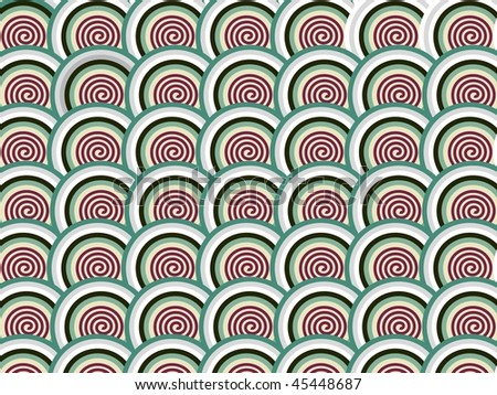 abstract background with spiral pattern