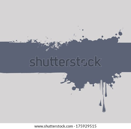 abstract background with spray and drops