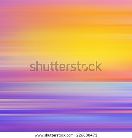 Abstract background with sunset. Vector illustration. Can be used for wallpaper, web page background, web banners. - stock vector