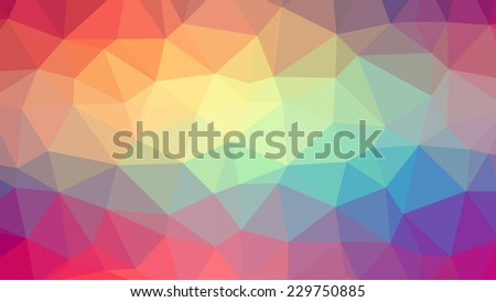 Abstract background with triangles. Vector ?2 - stock vector