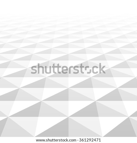 Abstract background with white geometric shapes. White and grey texture. Vector illustration - eps10. - stock vector