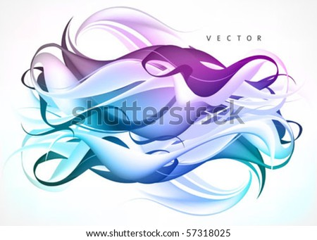 abstract backgrounds vector - stock vector