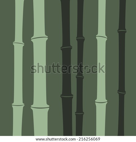 Abstract bamboo stalk background. Vector illustration, eps 8. - stock vector