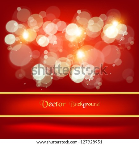 Abstract beautiful background with many brightness. Fantastic vector design. - stock vector