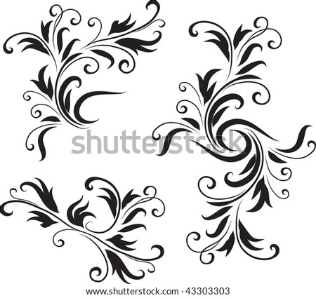 Abstract Black and White Design Pattern  Original Vector Illustration Black and White Design Pattern Ideal for Abstract Background