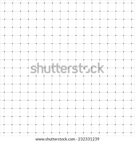 Abstract black  geometric background.  Dots and line.