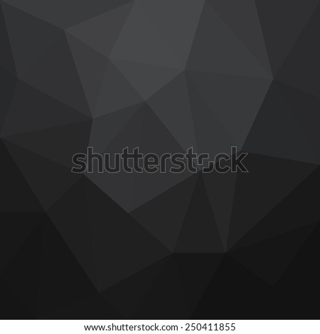 Abstract black geometrical background - Vector - stock vector