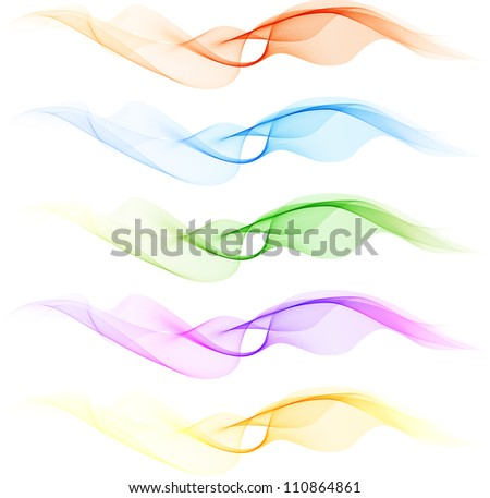 Abstract blend design elements - stock vector
