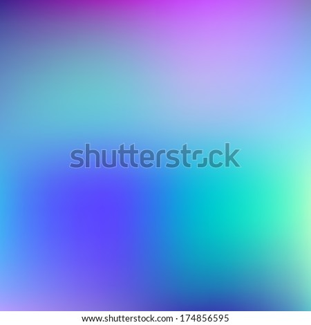 Abstract blue and violet blur color gradient background for web, presentations and prints. Vector illustration. - stock vector