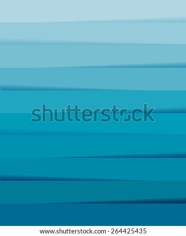 Abstract blue background, abstract sea waves. Vector eps10. - stock vector