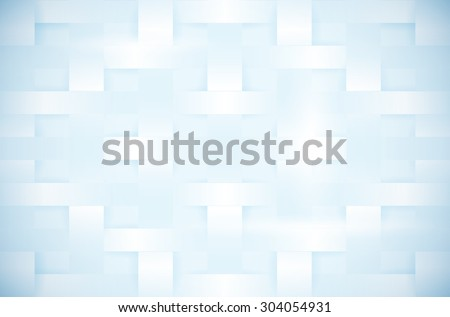 Abstract blue background in tangled paper style with vignette in corners - vector illustration - stock vector