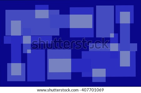 abstract blue background, squares