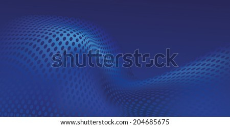 Abstract Blue Background Texture - stock vector