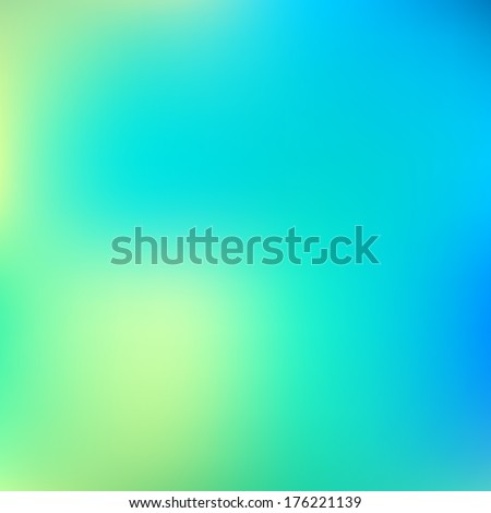 Abstract blue blur color gradient background for web, presentations and prints. Vector illustration. - stock vector