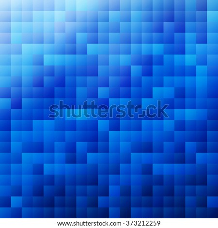 Abstract blue colored wallpaper pattern as a background for your design - stock vector