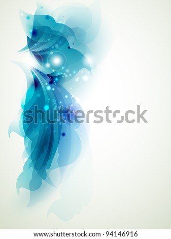 Abstract  blue  elements for design - stock vector