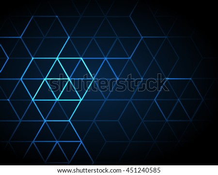 abstract blue lights backgrounds - stock vector