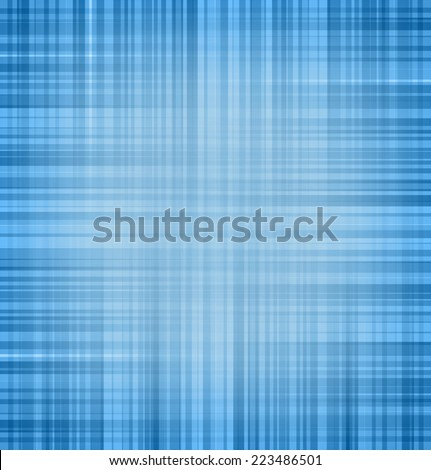 Abstract blue linear background texture. Vector illustration - stock vector