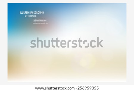 abstract blur background.colorful background burred wallpaper.vector illustration soft colored design backdrop template. - stock vector