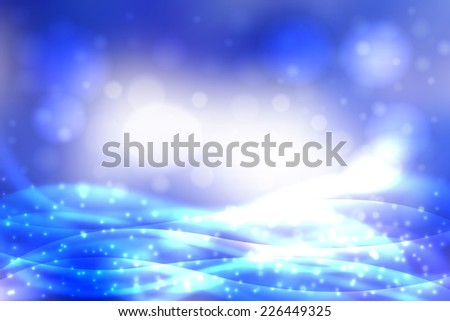 Abstract blur colored backgrounds with defocused lights. - stock vector