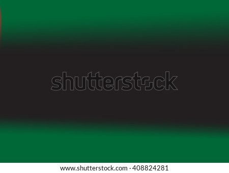 Abstract blurred background with neon pleasant colors,abstract black green background, smooth gradient texture color, glowing website pattern, banner header or sidebar graphic art image - stock vector