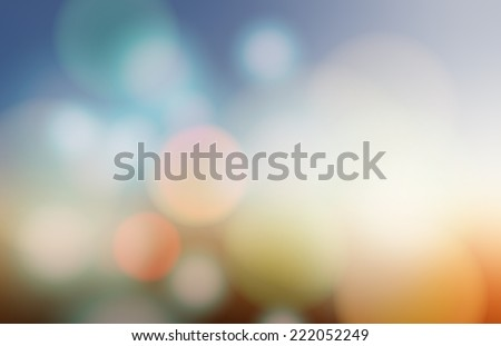 Abstract Blurred backgrounds  - stock vector
