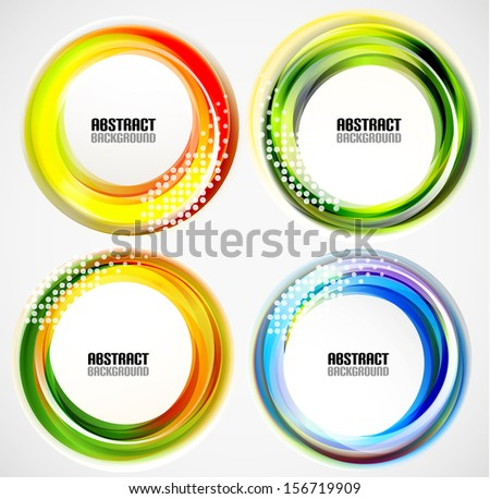 circle banner template
