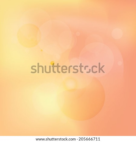 abstract blurry soft peach colored background for advertisement