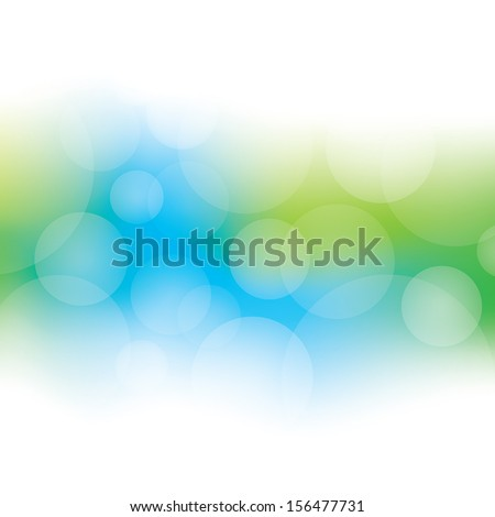 Abstract Bokeh Background - stock vector