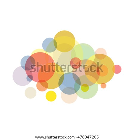 abstract bokeh festival background, vector illustration