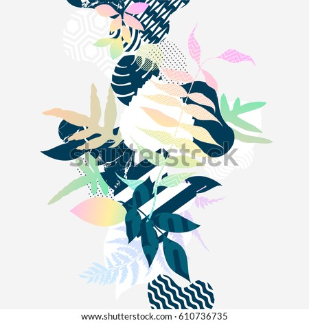 Abstract  botanic background