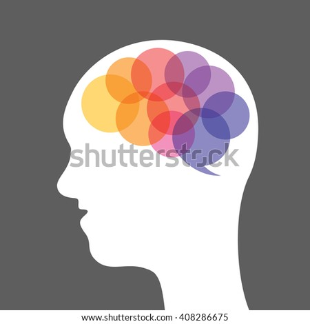 abstract brain illustration