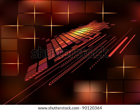 Abstract   bright   background . Vector illustration. - stock vector