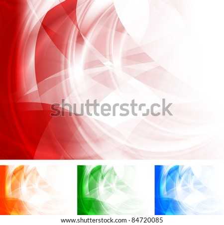 Abstract bright backgrounds - stock vector