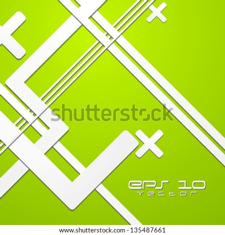 Abstract bright technology design. Vector background eps 10 - stock vector