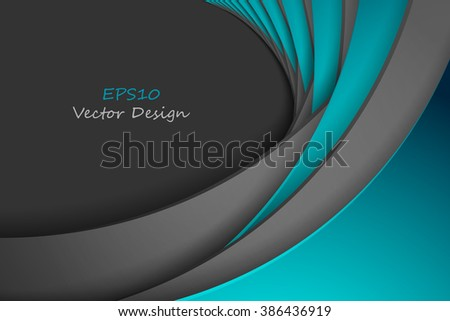 abstract bright vector background with copy space. Eps10 - stock vector