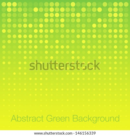 Abstract Bright Yellow Background, vector illustration  - stock vector